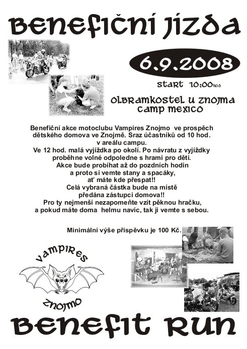 Plakát Benefice 2008